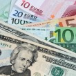 US Dollar versus Euro — Stock Photo #18284539