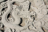 Dragons sculpture — Stock Photo