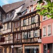 Timbered houses in Alsace, France — Stock Photo