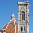 Campanile di Giotto and Duomo di Firenze,  italy — Stock Photo