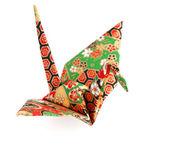 Origami grúa — Foto de Stock
