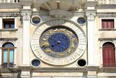 Zodiac clock on Piazza San Marco, Venice — Stock Photo