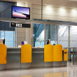 Boarding Gate at an airport — Stock Photo
