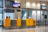 Boardinggate op een luchthaven — Stockfoto