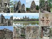 Cambodia Angkor highlights — Stock Photo
