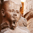 Pharaoh Ramses II statue — Stock Photo