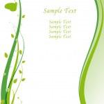 Go Green concept design — Stock Photo