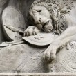 The Lion Monument, Lucerne, Switzerland — Stock Photo