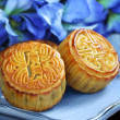 Chinese Mid-Autumn Festival moon cake — Stock Photo