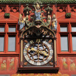 Clock on the Basel Town Hall, Switzerland — Stock Photo