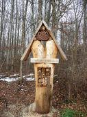 Wild bee hotel — Φωτογραφία Αρχείου