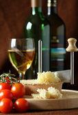 Swiss Cheese Specialty - Tete De Moine — Stock Photo