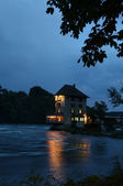Old Customers-House at the Rhine River-side — Stock Photo