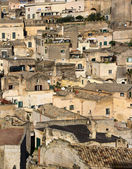 Sassi - the lost city in Matera, Pulgia, Italy — Stock Photo