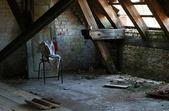 Verlaten kamer — Stockfoto