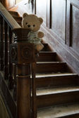 Abandoned teddy bear — Stock Photo