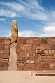 Kalasayaya temple, Tiwanaku, Bolivia — Stock Photo