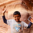 Bedouin boy — Stock Photo