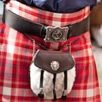 Details of Scottish kilt — Stock Photo #47426089