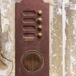 Rusty door bell — Stock Photo #47747099