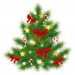 Royalty-Free Stock Vector Image: Christmas fir tree