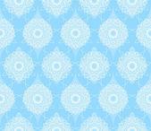 Blue seamless pattern — Cтоковый вектор