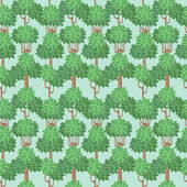 Floresta sem emenda — Vetorial Stock