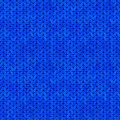 Blue seamless knitted texture — Stock Vector