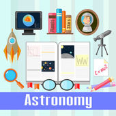 Astronomy  — Stock Vector