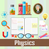 Physics — Stock Vector