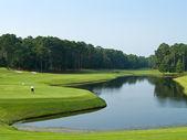 хороший гольф день — Стоковое фото