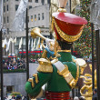 Toy Soldier Rockefeller Center - Stock Photo