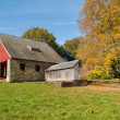Stock Photo: Old Autumn Barn