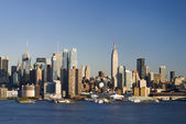 Daytime New York City Skyline — Stock Photo