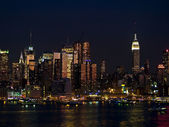 New York City Skyline View — Stock Photo