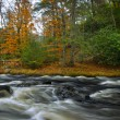 Stock Photo: Flowing Bushkill Creek