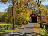 Knecht's Covered Bridge — Stock Photo