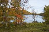 Autumn Lake View — Stock Photo