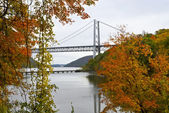 Bear Mountain Bridge View — Stock Photo