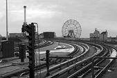 Coney Island Station — Stock Photo
