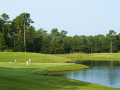 Golfing Myrtle Beach — Stock Photo