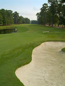 View From the Sand Trap — Stock Photo