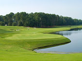 Course View Myrtle Beach — Stock Photo