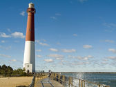 Coastline Lighthouse — Stock Photo