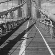 Brooklyn Bridge BW — Stock Photo