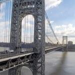 The George Washington Bridge — Stock Photo