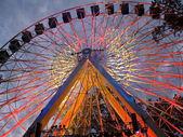 Ferris Wheel at Night — Stock Photo
