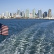 San Diego Harbor View — Stockfoto