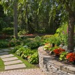 Stock Photo: Garden Wall