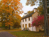 Autumn Cottage — Stock Photo